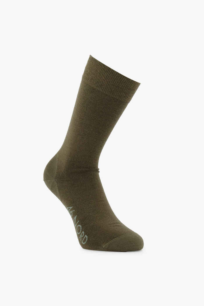 46 Nord Merino 35-46 chaussettes Couleur Olive 2