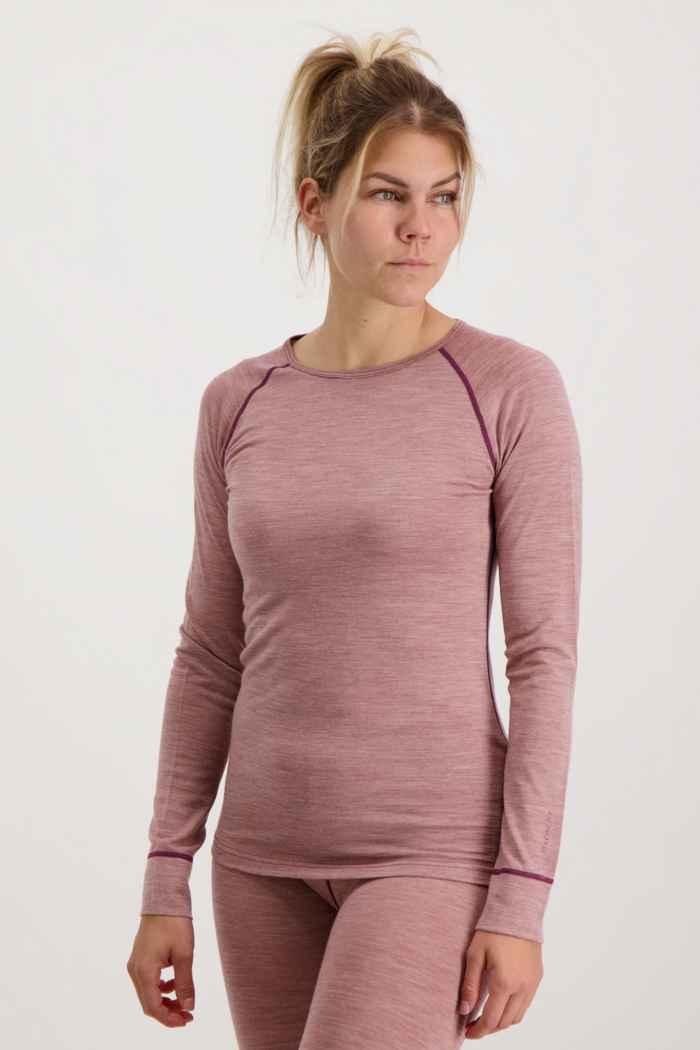 46 Nord Merino Damen Thermo Unterwäsche Set Farbe Rosa 2