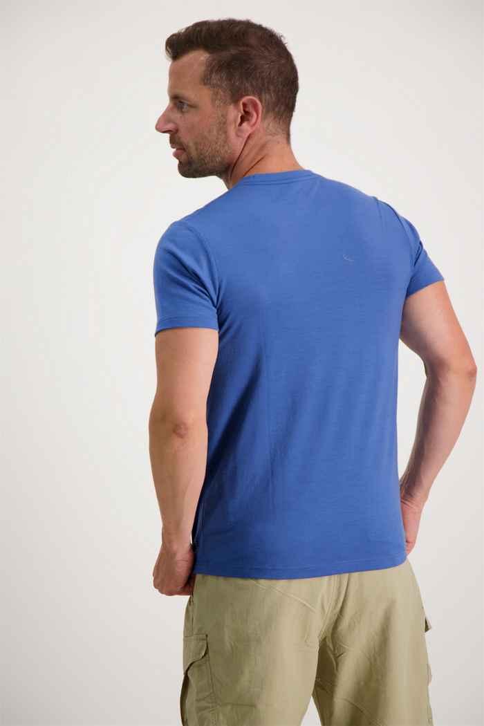 46 Nord Merino Herren T-Shirt Farbe Blau 2
