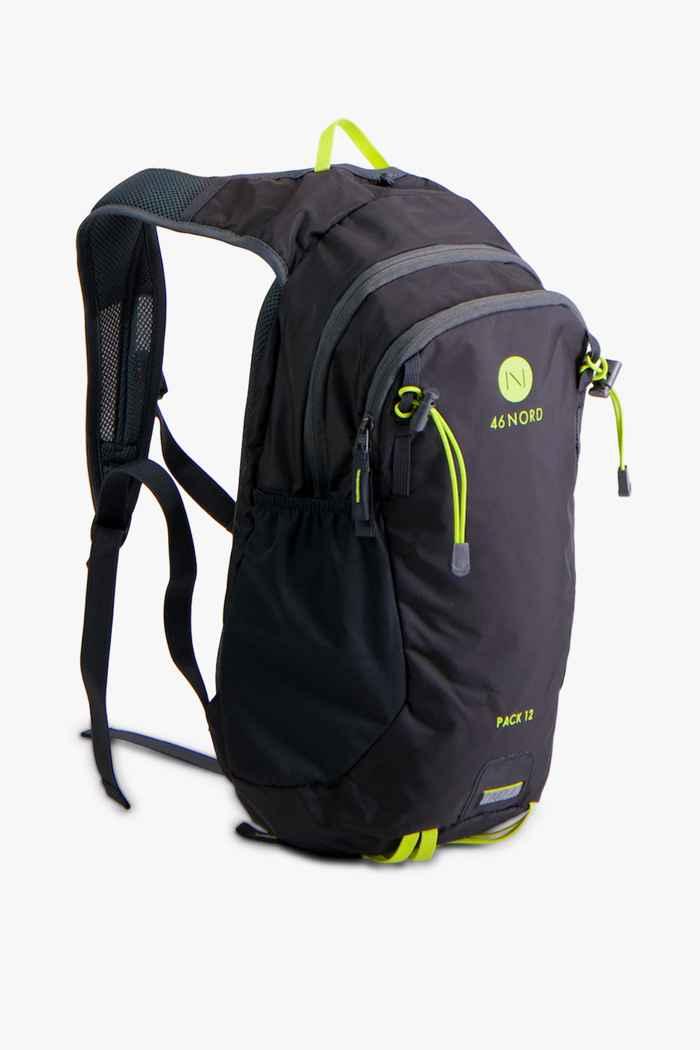46 Nord Pack 12 L Wanderrucksack Farbe Schwarz 1