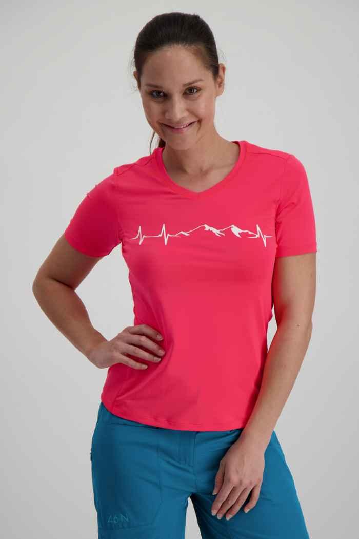 46 Nord Performance t-shirt femmes Couleur Rose vif 1