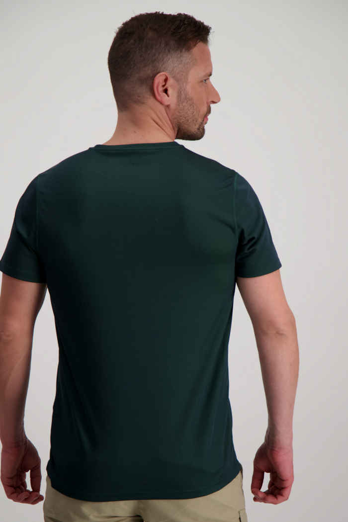 46 Nord Performance t-shirt uomo Colore Verde scuro 2
