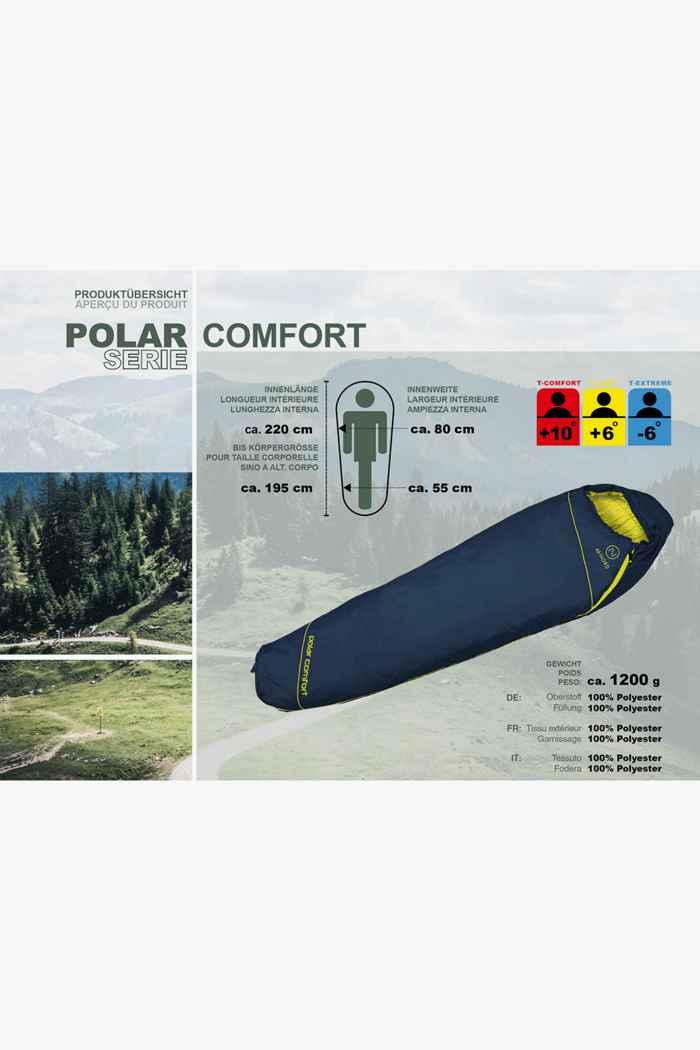 46 Nord Polar Comfort L sacco a pelo ZIP L 2