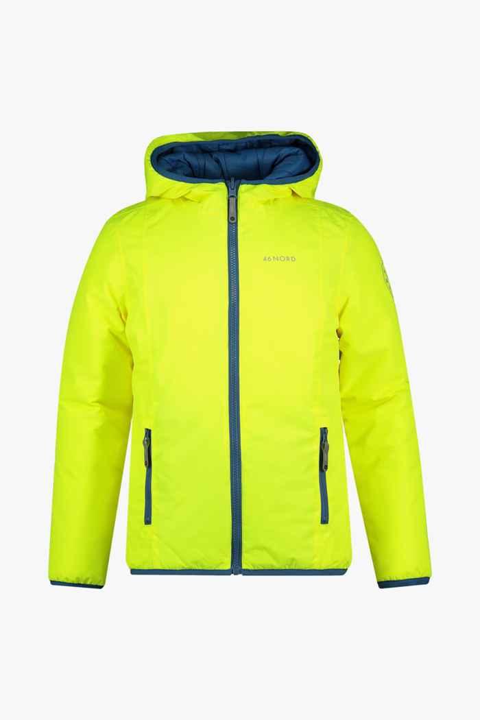 46 Nord Reversible veste outdoor enfants Couleur Jaune 1