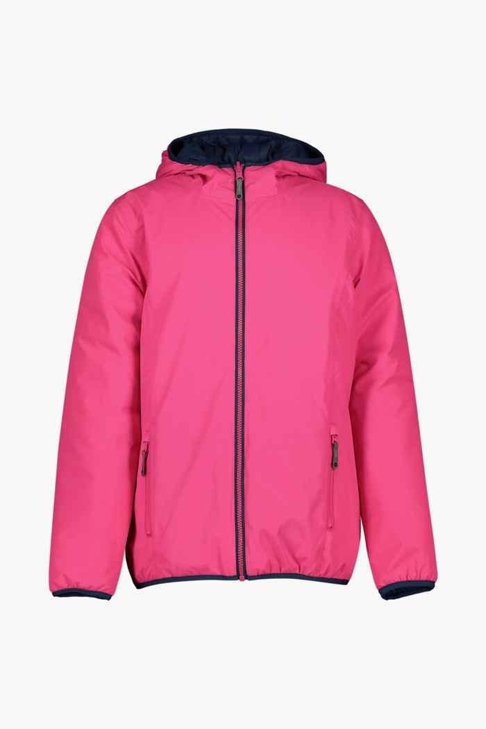 46 Nord Reversible veste outdoor filles Couleur Rose vif 1