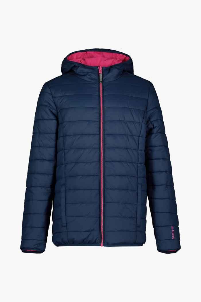 46 Nord Reversible veste outdoor filles Couleur Rose vif 2