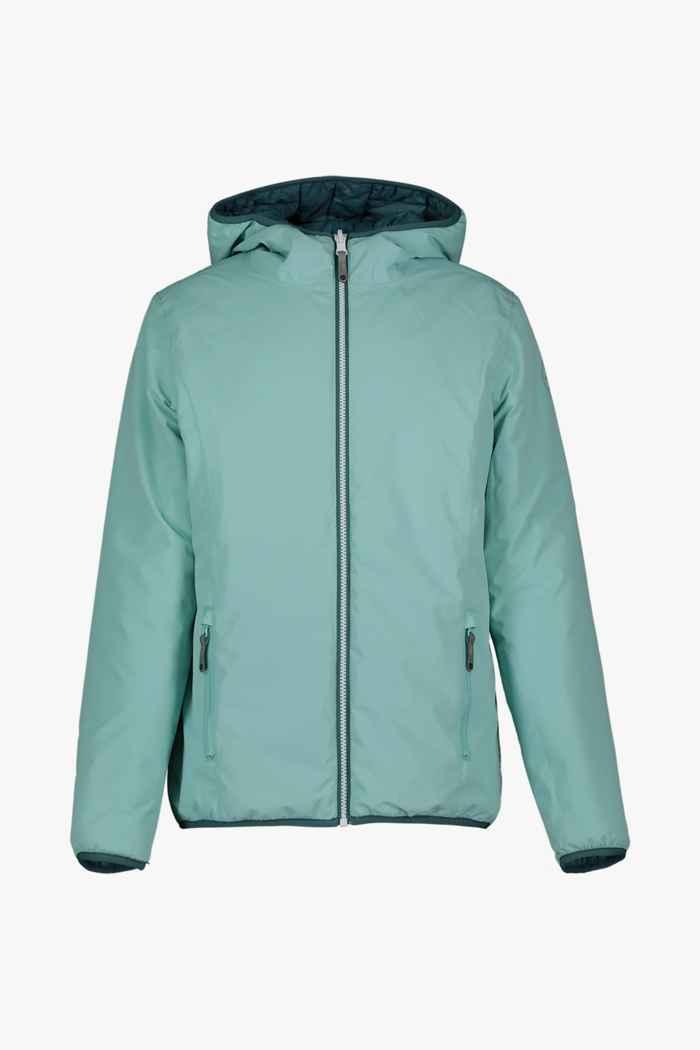 46 Nord Reversible veste outdoor filles Couleur Turquoise 1