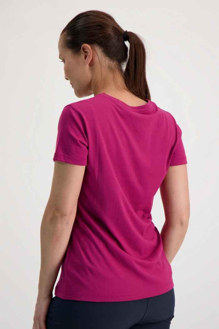 46 Nord t-shirt femmes Couleur Bordeaux 2