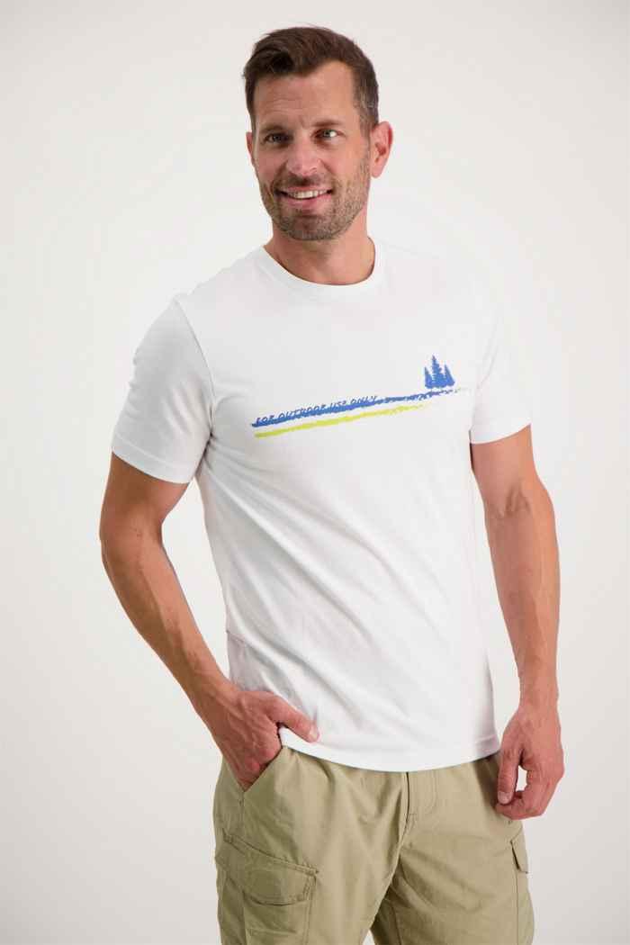 46 Nord t-shirt hommes Couleur Blanc 1