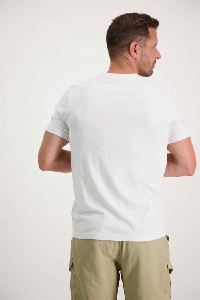 46 Nord t-shirt hommes Couleur Blanc 2
