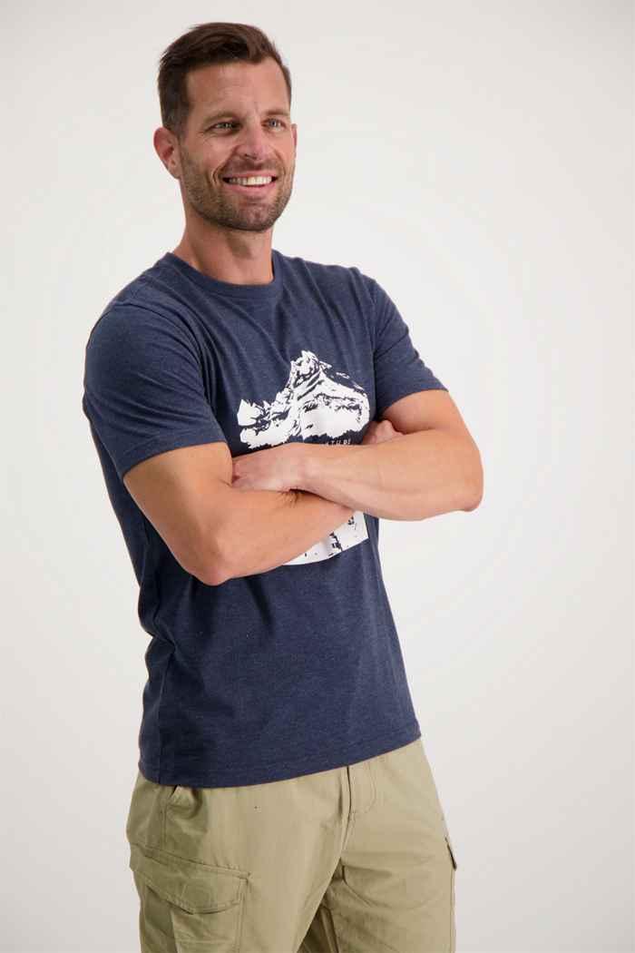 46 Nord t-shirt hommes Couleur Bleu 1