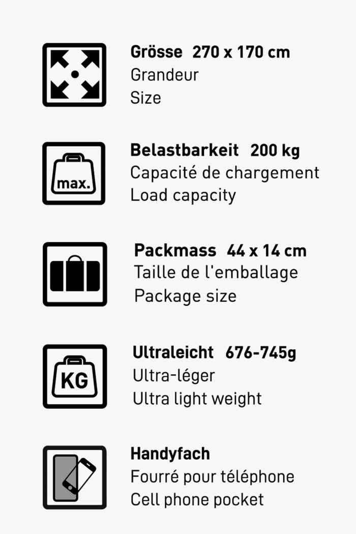 46 Nord Travel Ultralight hamac 2