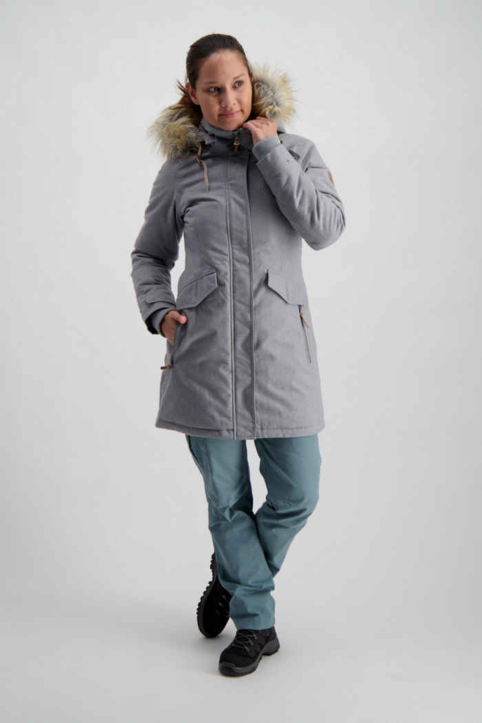 46 Nord Urban Damen Mantel Farbe Grau 1