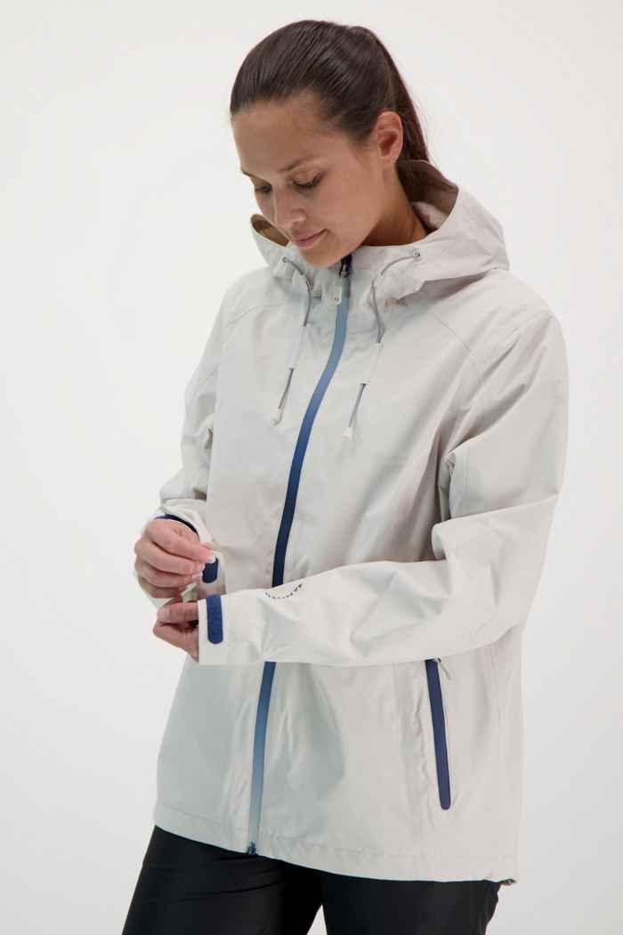 46 Nord veste imperméable femmes Couleur Blanc cassé 1