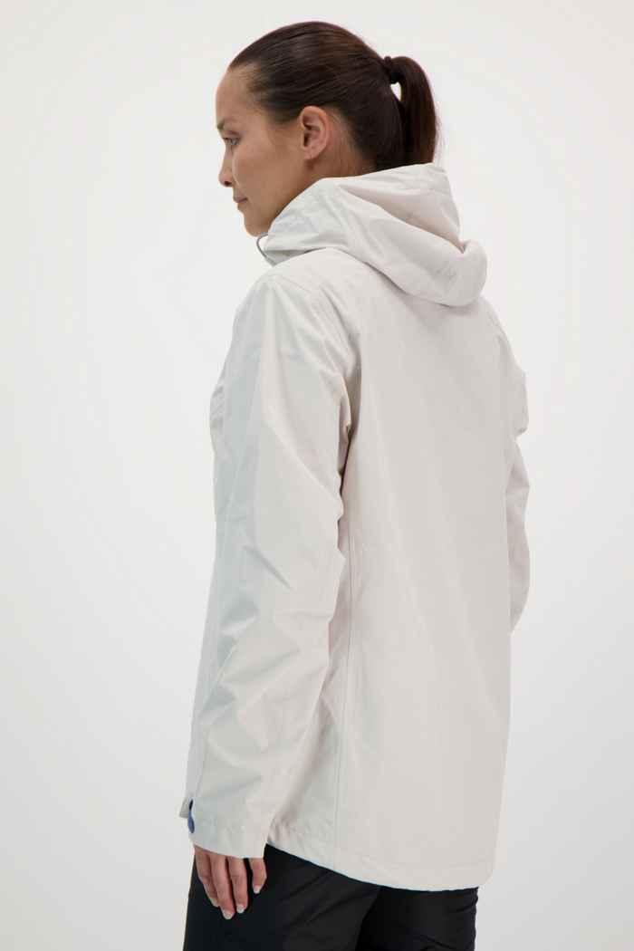 46 Nord veste imperméable femmes Couleur Blanc cassé 2