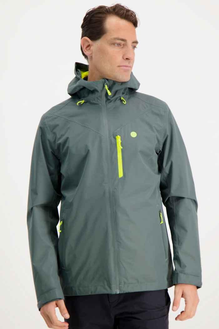 46 Nord veste imperméable hommes Couleur Vert 1