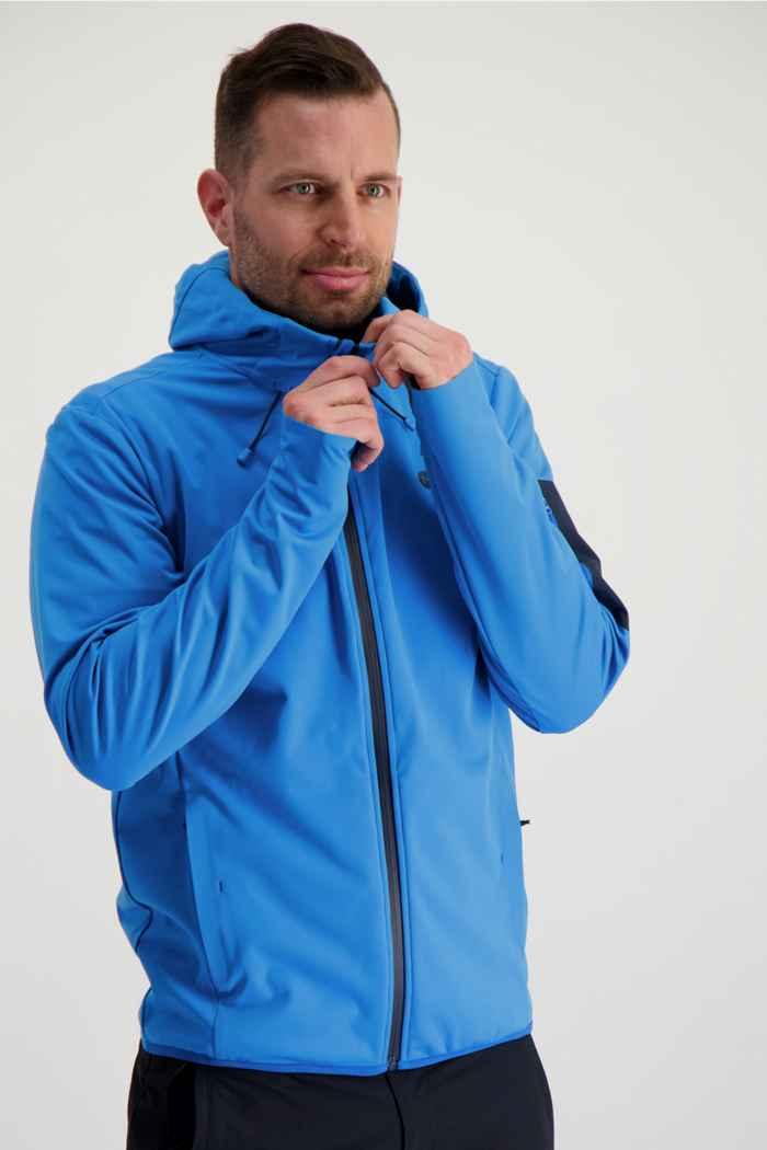 46 Nord veste softshell hommes Couleur Bleu 1