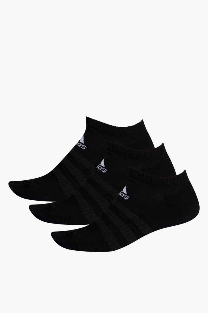 adidas Performance 3-Pack Cushioned Low 37-39 Socken Farbe Schwarz 1