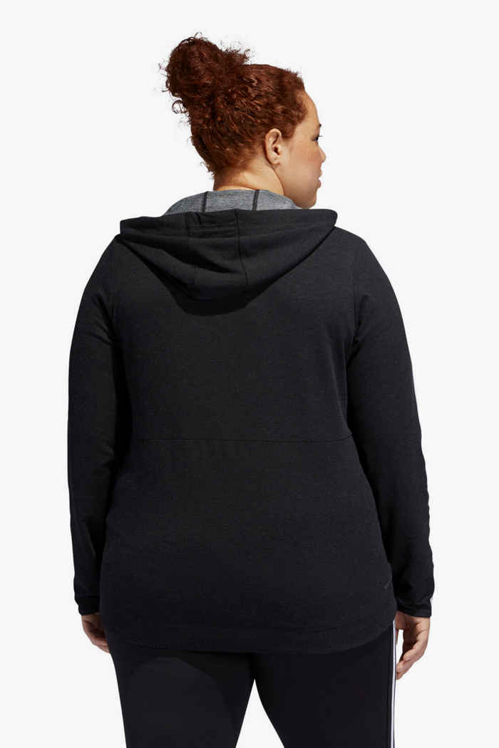 adidas Performance 3 Streifen Plus Size giacca della tuta donna 2