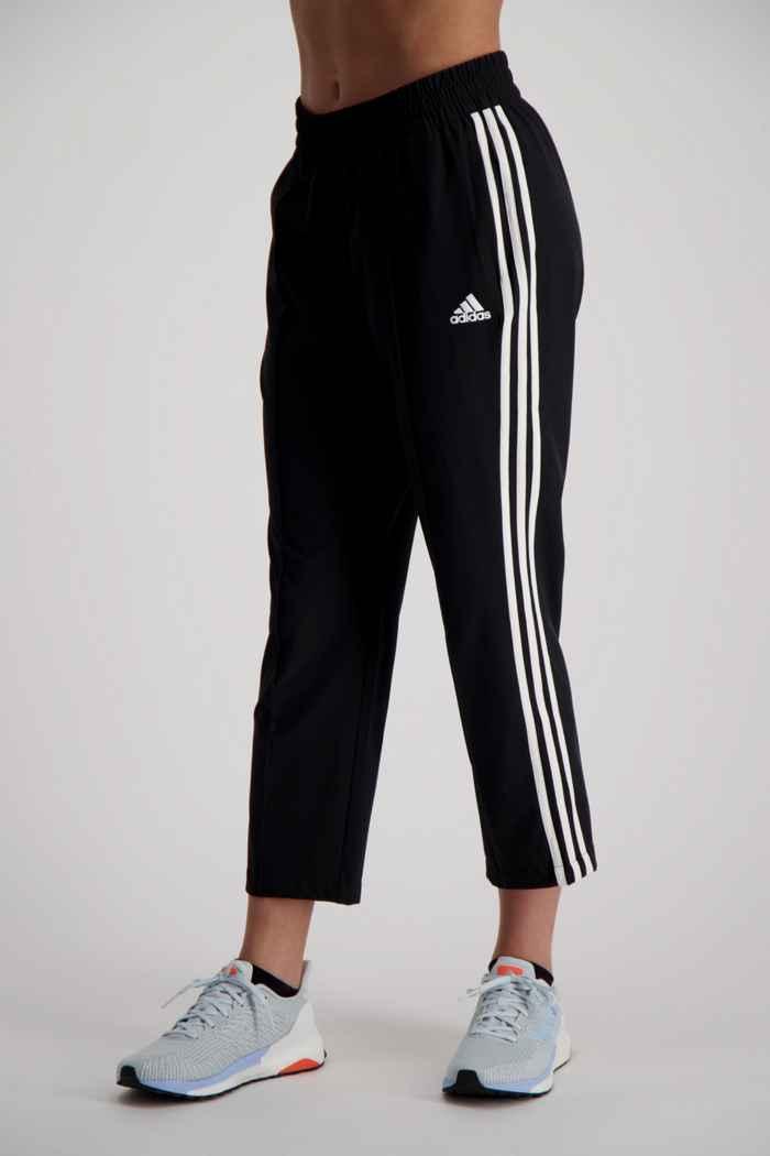 adidas Performance 3 Streifen Woven pantaloni della tuta 7/8 donna 1