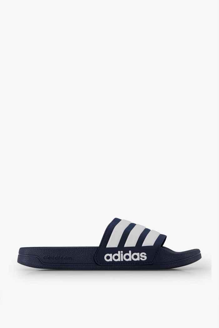 adidas Performance Adilette Cloudfoam slipper hommes Couleur Blanc/bleu 2