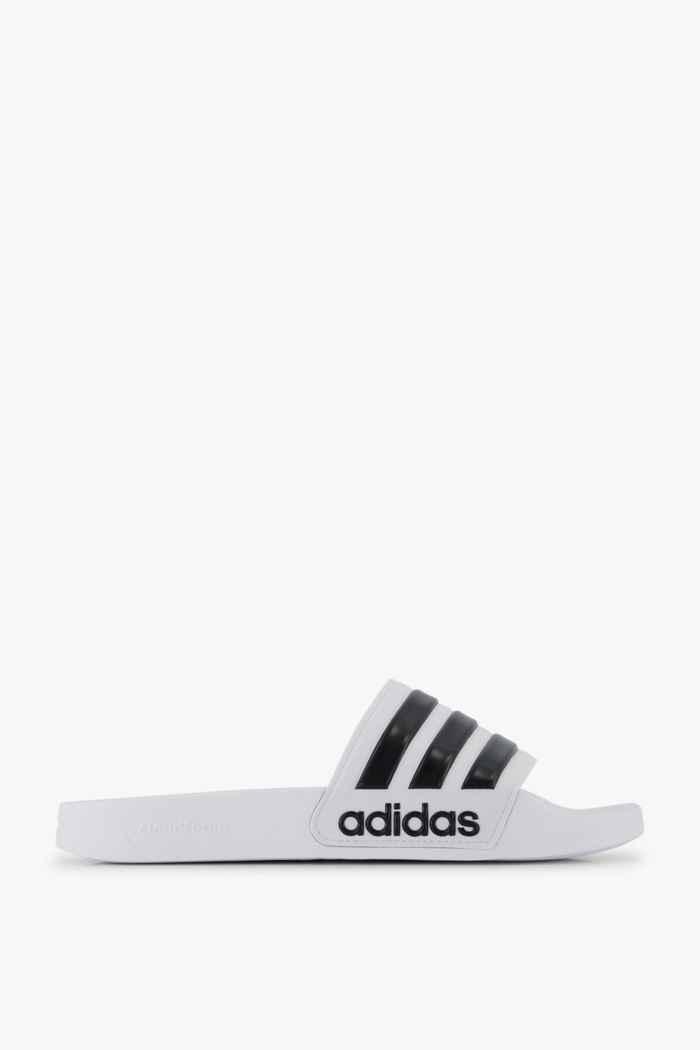 adidas Performance Adilette Cloudfoam slipper hommes Couleur Noir-blanc 2