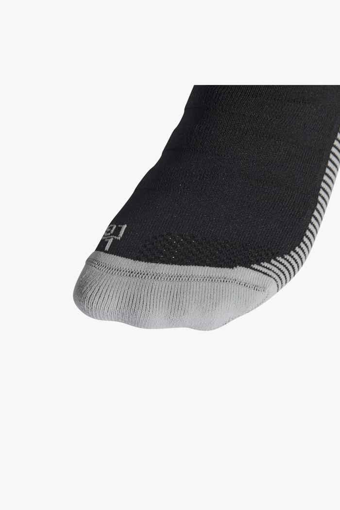 adidas Performance Adisocks 40-45 scaldamuscoli da calcio Colore Nero 2