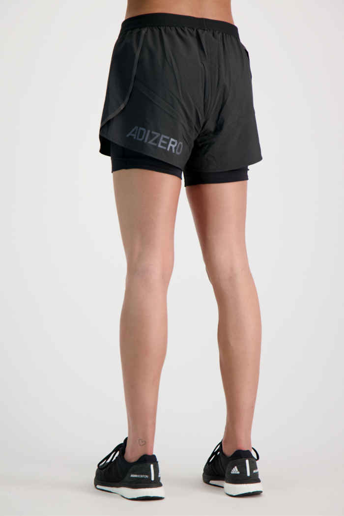 adidas Performance Adizero 2in1 Damen Short 2