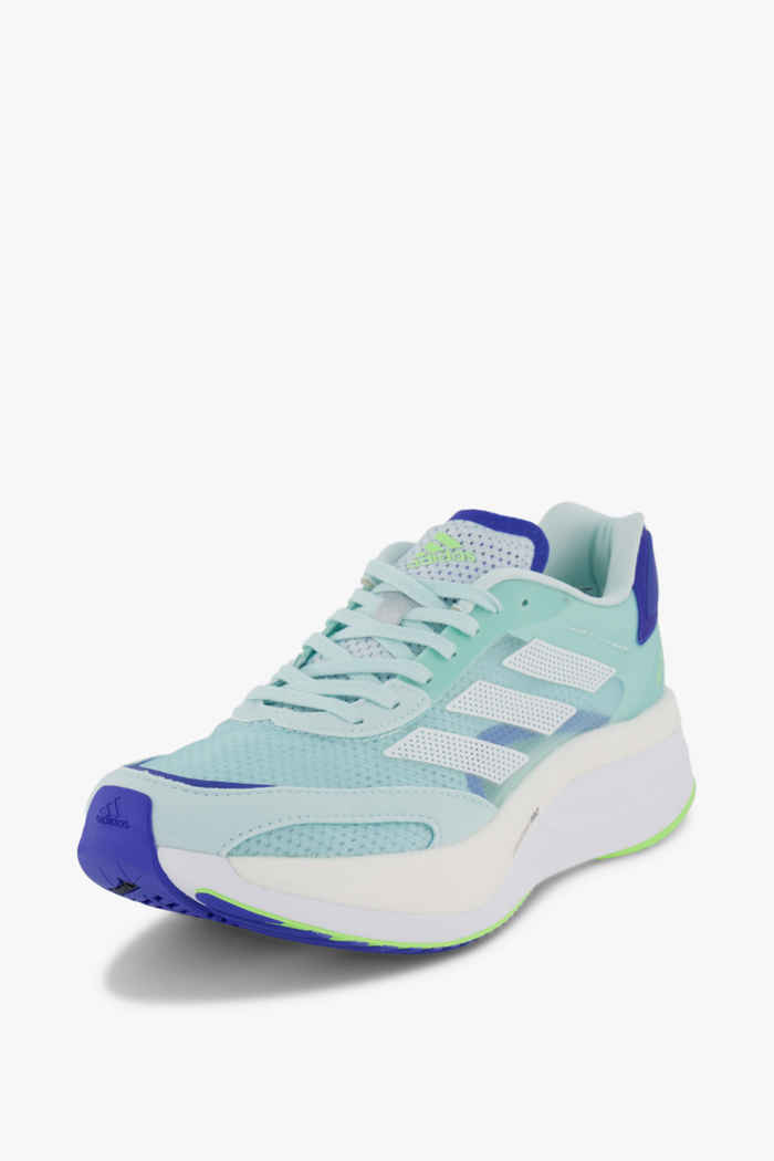 adidas Performance Adizero Boston 10 Damen Laufschuh Farbe Hellblau 1