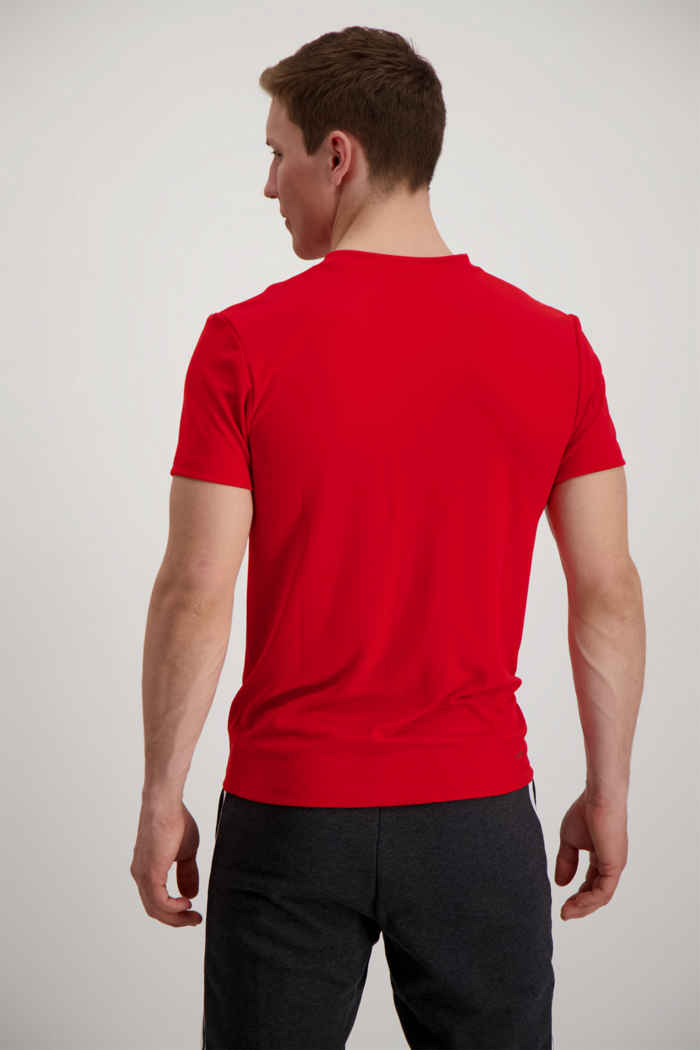 adidas Performance Aeroready 3-Streifen t-shirt hommes Couleur Rouge 2