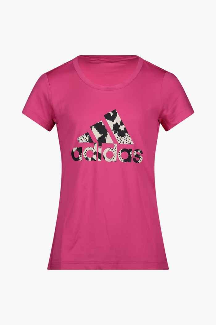 adidas Performance Aeroready Animal Logo Print Slim t-shirt filles 1