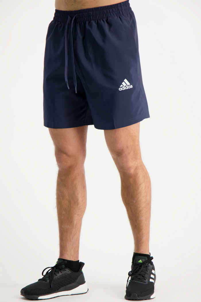 adidas Performance Aeroready Essentials Chelsea short hommes Couleur Bleu navy 1