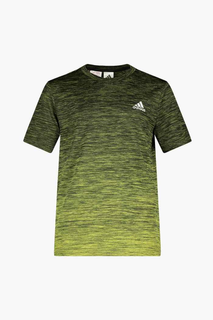 adidas Performance Aeroready Gradient t-shirt enfants Couleur Jaune 1