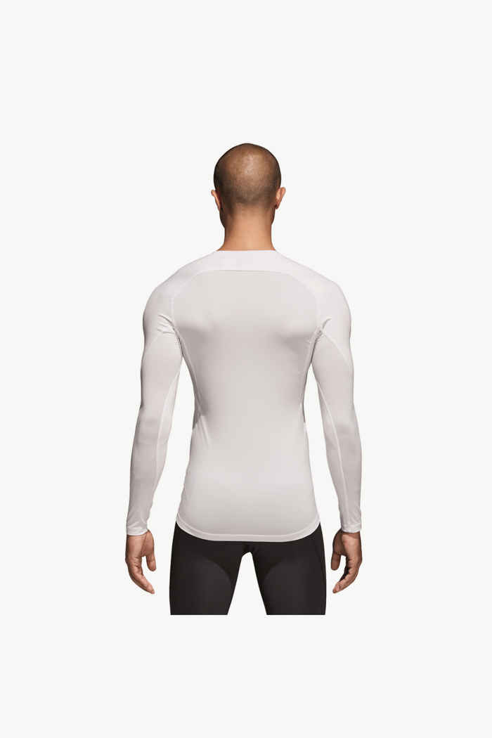 adidas Performance Alphaskin Sport Herren Longsleeve Farbe Weiß 2