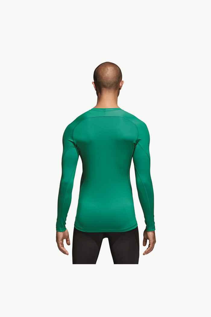 adidas Performance Alphaskin Sport longsleeve uomo Colore Verde 2