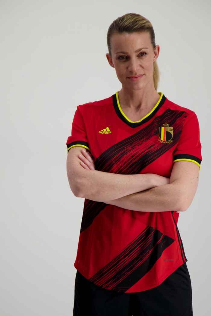 adidas Performance Belgien Home Replica Damen Fussballtrikot 1