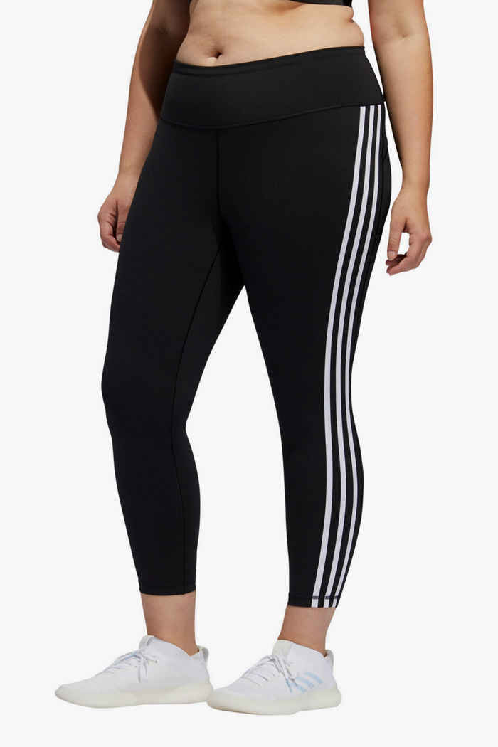 adidas Performance Believe This 3S Plus Size tight 7/8 donna 1