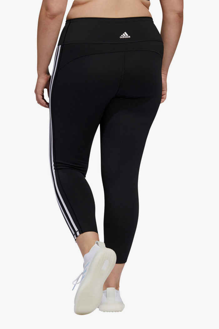 adidas Performance Believe This 3S Plus Size tight 7/8 donna 2