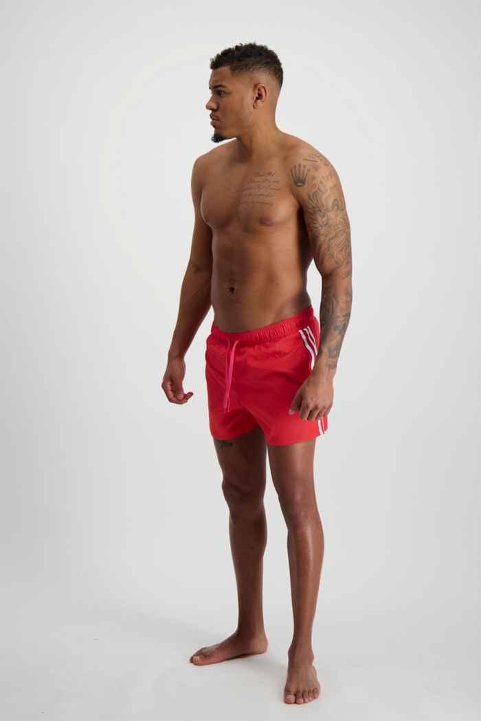 adidas Performance Classic 3S costume da bagno uomo Colore Rosso 1