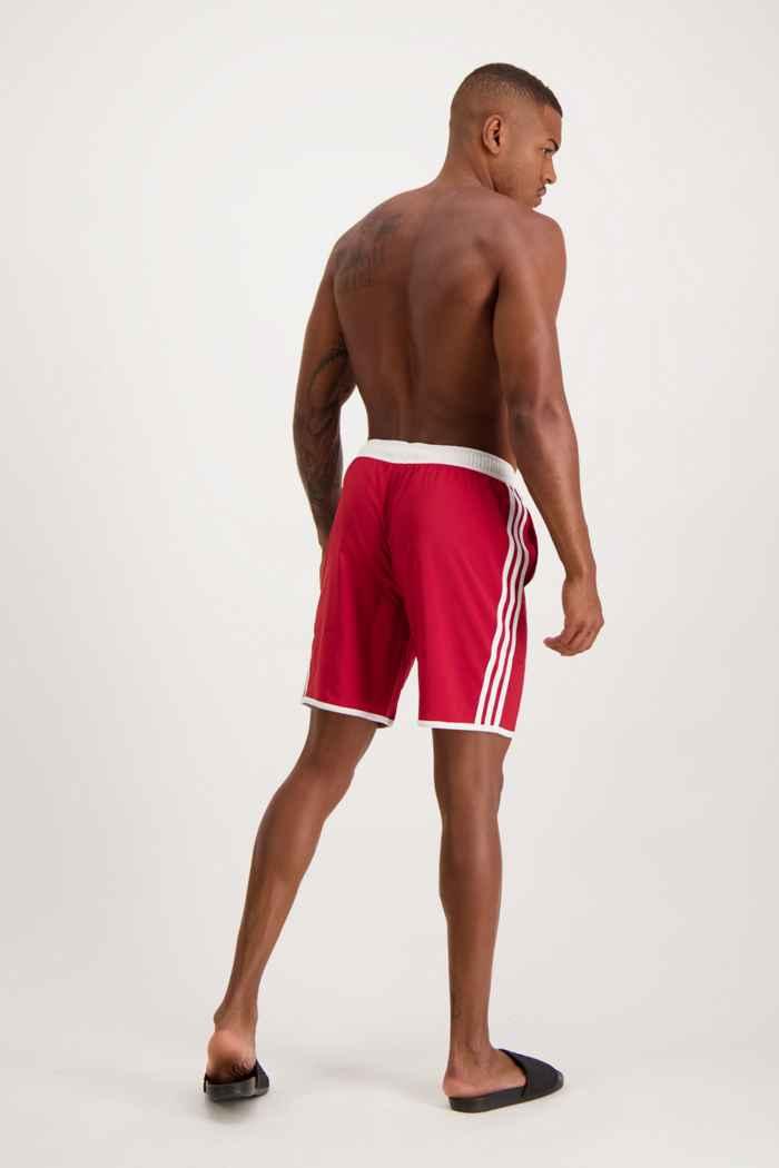 adidas Performance Classic-Length 3S Herren Badeshort Farbe Rot 2