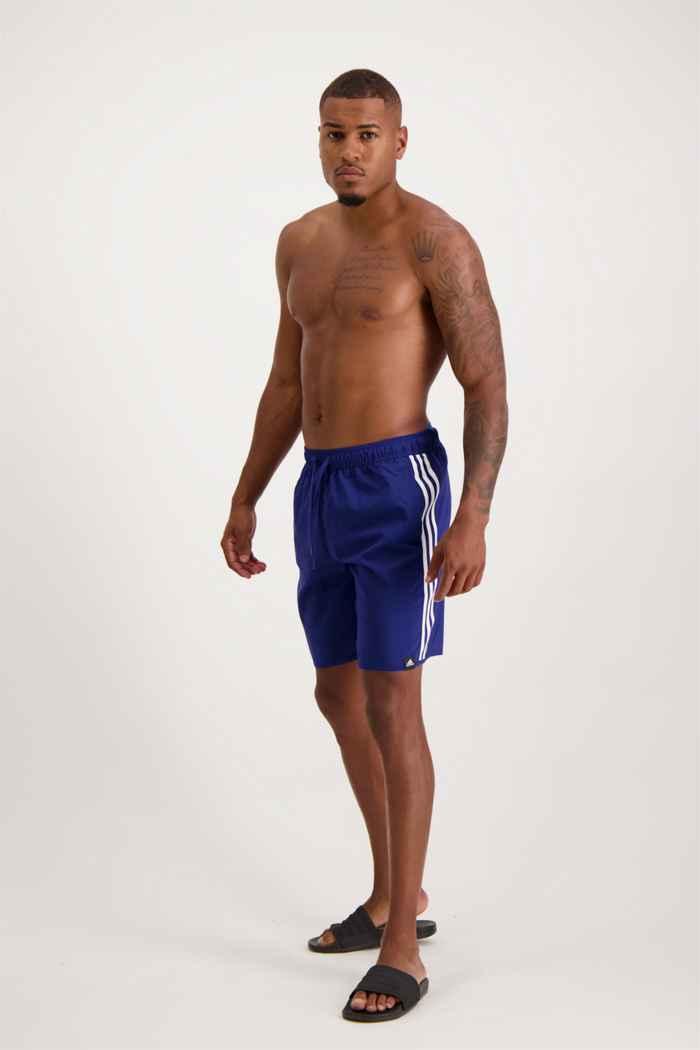 adidas Performance Classic-Length 3S maillot de bain hommes Couleur Bleu 1