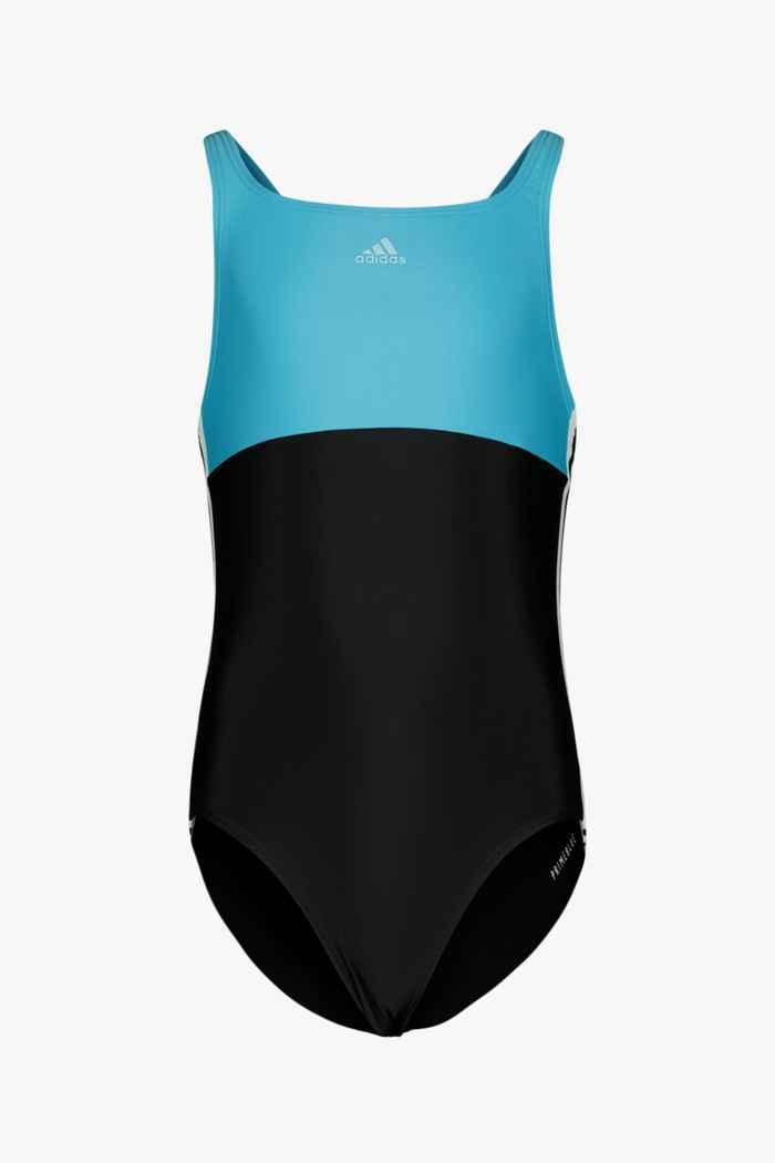 adidas Performance Colorblock 3S maillot de bain filles Couleur Bleu/noir 1