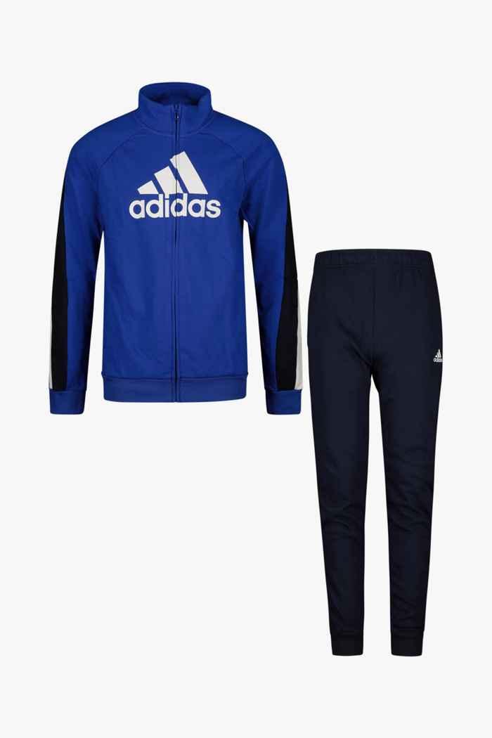 adidas Performance Colorblock Big Badge of Sport Kinder Trainingsanzug 1