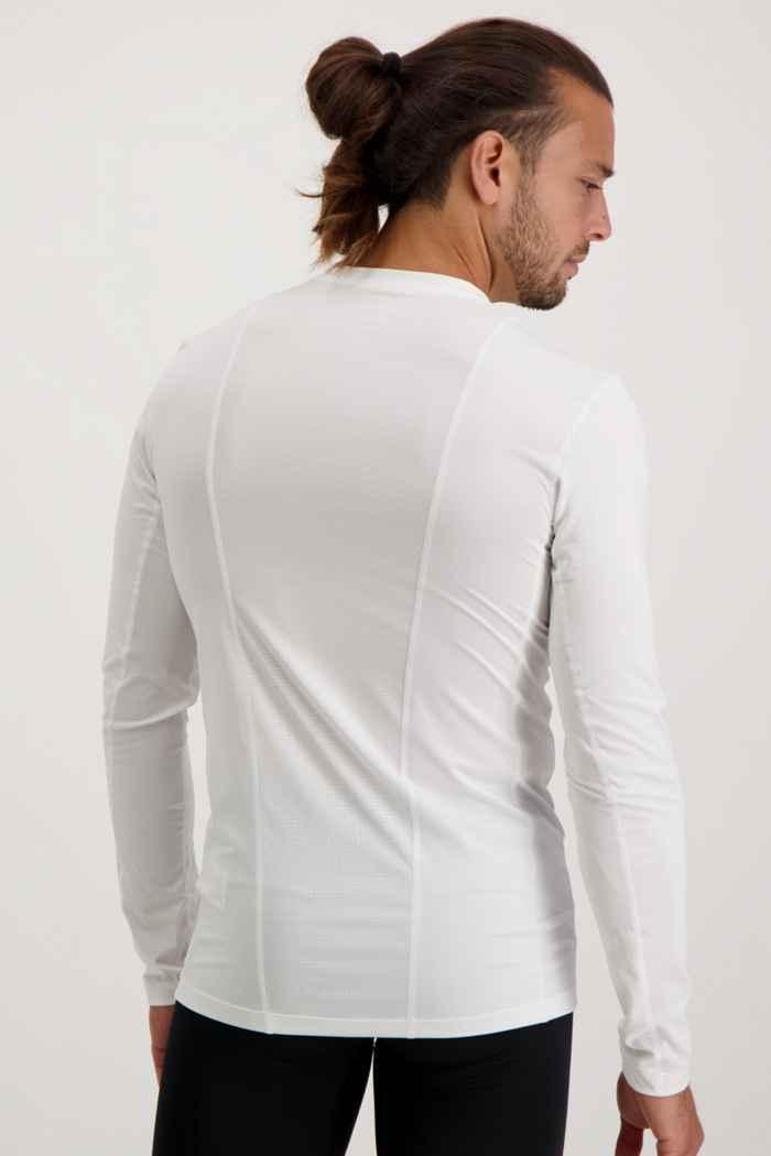 adidas Performance Compression Herren Longsleeve Farbe Weiß 2