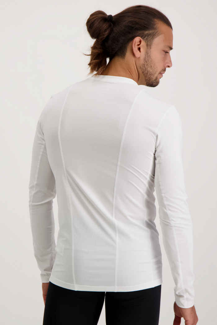 adidas Performance Compression longsleeve hommes Couleur Blanc 2