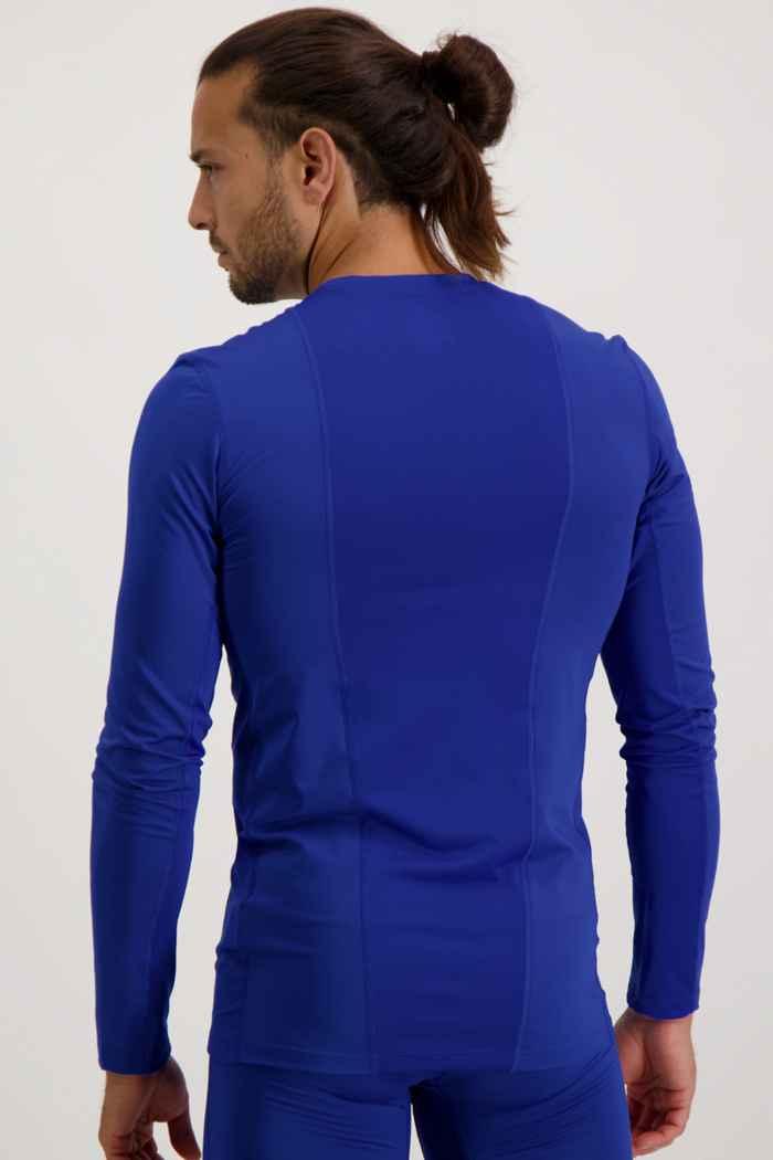 adidas Performance Compression longsleeve hommes Couleur Bleu 2