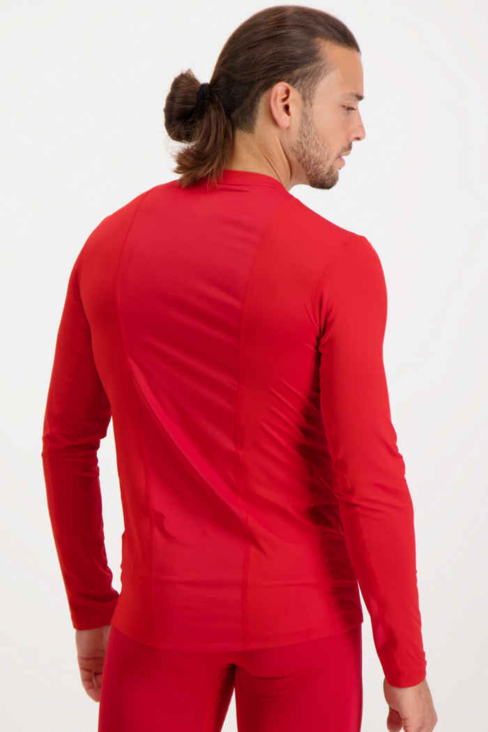 adidas Performance Compression longsleeve hommes Couleur Rouge 2