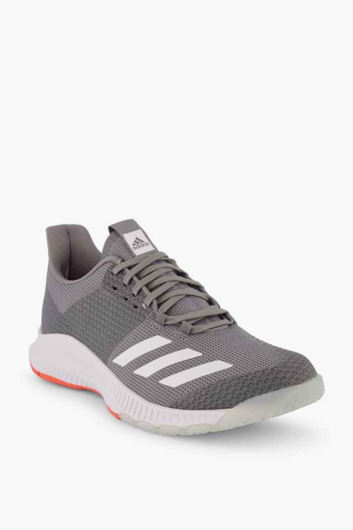 adidas Performance Crazyflight Bounce 3 chaussures de salle femmes Couleur Gris clair 1