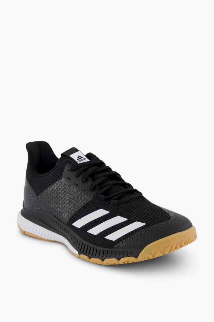 adidas Performance Crazyflight Bounce 3 scarpe da palestra donna Colore Nero-bianco 1