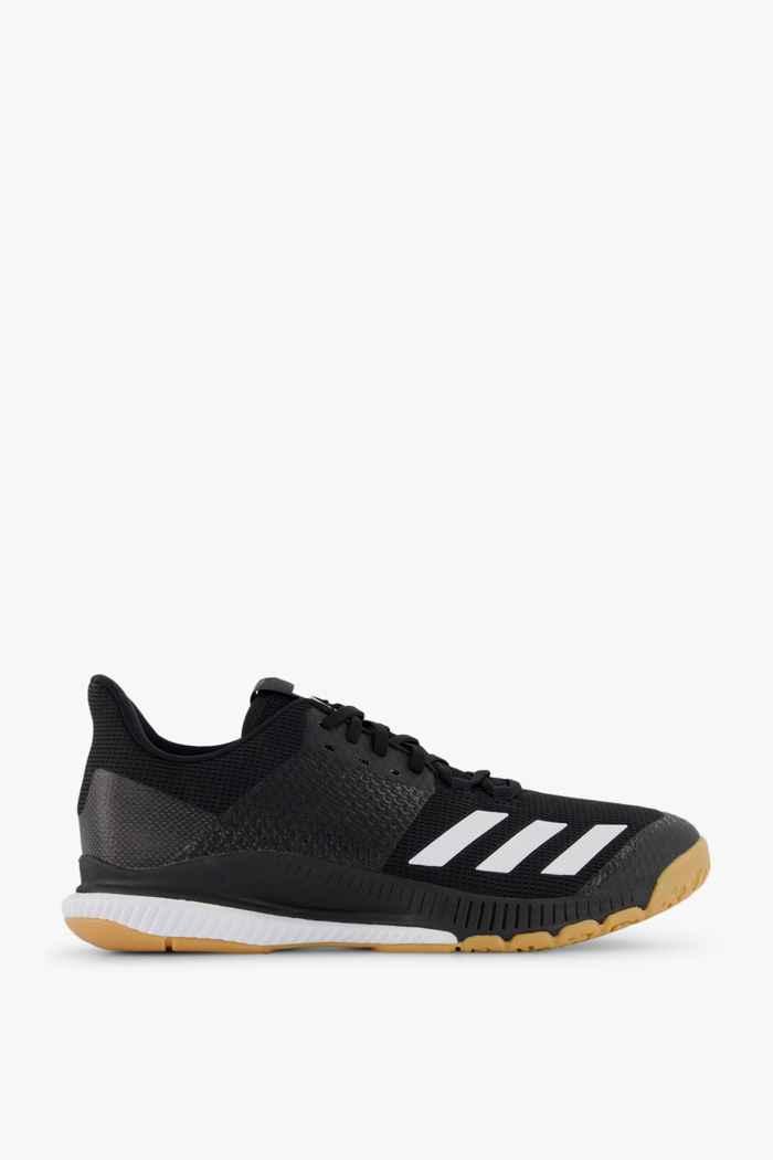 adidas Performance Crazyflight Bounce 3 scarpe da palestra donna Colore Nero-bianco 2